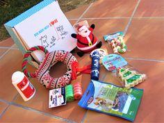 Bambou a reçue récemment sa box de Noël, comme vous le savez j'apprécie de lui faire plaisir et je voulais qu'elle ait aussi des cadeaux au pied du sapin.