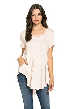 My Space Clothing Women's Front Pocket Knit Tunic Top (Medium, Blush) My Space Clothing http://www.amazon.com/dp/B01BE91RV6/ref=cm_sw_r_pi_dp_PXJSwb1YH2F6R