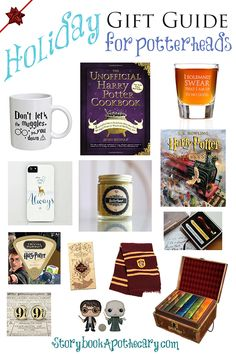 Are you and someone you know a Harry Potter fan AKA potterhead? If so, I've got the PERFECT gift guide for you!