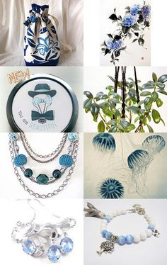 The Blue Fantasy by Annette on Etsy--Pinned with TreasuryPin.com