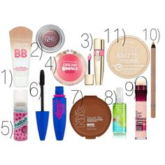"""Must Have Beauty Products for Summer"" by bramblewoodfashion on Polyvore"