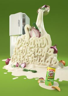 To Eat With Your Eyes: 40+ Delicious Food Typography Designs - noupe #typography #inspiration