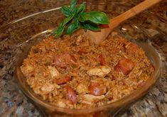 Mermaids Treasures - Musings of an Antique Lil Girl: Chicken and Sausage Jambalaya, and my version
