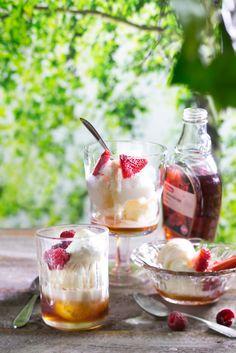 Frozen yoghurt eli jogurttijäätelö | K-ruoka  Maistuu sellaisenaan tai maustettuna oman maun mukaan!