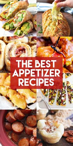 These are the best appetizer recipes on the Internet! Your next party needs to include all of them because they are so good. #thanksgiving #christmas #newyears #appetizers #partyfood #appetizerrecipes
