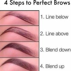 Steps to a Perfect Brows