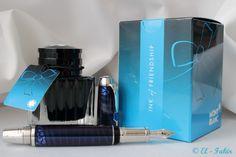 Montblanc Bohème - Paso Doble Bleu w/ Montblanc Ink of Friendship (Turquoise)