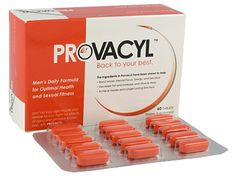 """Provacyl™- An all-natural supplement for men that stimulates the body's own production of """"youth hormone"""". More energy, thicker bones, fewer wrinkles and a renewed outlook on life!  Utilize coupon code """"nicesup123"""" for a 25% discount."""