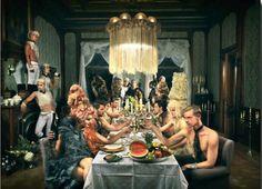 Dinner+extravaganze+door+Elmar+Dam+-+Te+huur/te+koop+via+Kunsthuizen.nl