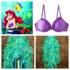 Run Disney Little Mermaid Ariel Costume