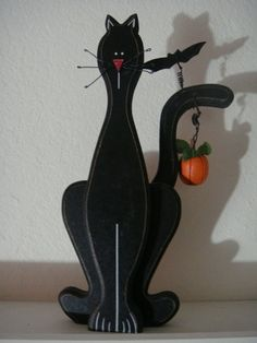 wooden halloween cats - Yahoo! Search Results