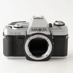 Minolta X-300 SLR Camera Body. Shutter curtain is partially open. | eBay!