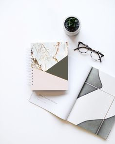 2018 12M Planner (Design Love Planner). Marble, blush, and copper design met functionality and minimalism. Stay organized in style!!
