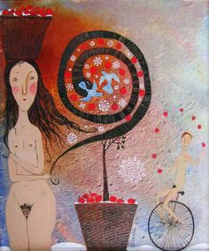 Anna Silivonchik  -  The winter in paradise  2010
