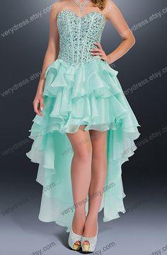 Custom Beach Sweetheart Floor-length Chiffon Long Prom dress/ lace prom dress,bridesmaid dress,Formal Dress
