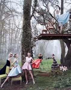 Daria Strokous by Inez  Vinoodh for Dior