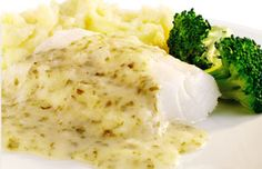 Schwartz recipe for Creamy Lemon and Parsley Cod, ingredients and recipe ideas for Fish and British cooking. Visit Schwartz for more recipe ideas.