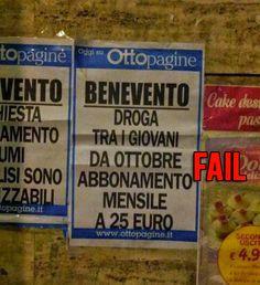 ABBONAMENTI AMBIGUI: #DROGA MENSILE A 25 EURO! http://www.ilpeggiodellarete.it/abbonamenti-ambigui-droga-mensile-a-25-euro/