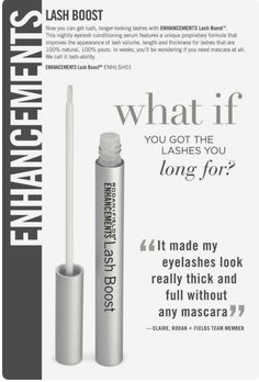 Lash Boost - Rodan + Fields darker, fuller, longer looking lashes. 100% natural 100% yours. amyjensik.myrandf.com