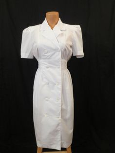 SWEET NIGHTINGALE uniform dress costume nurse by johnnybombshell, $40.00