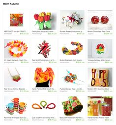 Warm Autumn A big thank you to Anne from LittlePrincessPea making this colorful gift guide!