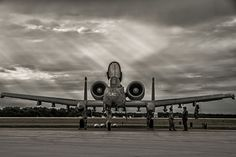 A-10 Thunderbolt II by Jeff Greger #plane #airplane #jet #military