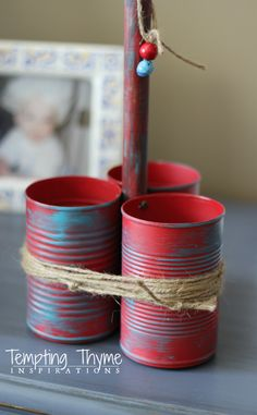 ... don't think so! on Pinterest | Tin Cans, Photo Holders and Mason Jars