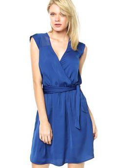 Vestido Colcci Azul