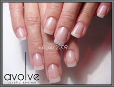 Natural Looking Artificial Nails | ... Nail Technician in Sydney, Australia - natural looking acrylic nails