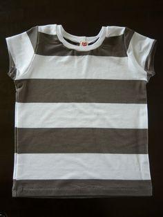 ... mit dem Hang zur Nadel: T - Shirt - Wochen: Einfaches Shirt . schönes Tutorial zum T-Shirt nähen . Saum . Halsbündchen... gut erklärt