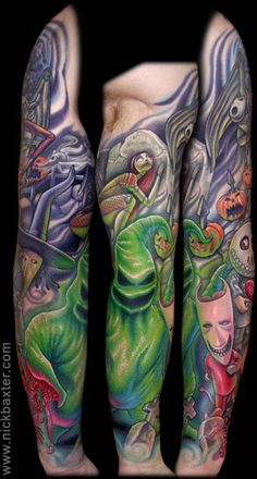 Nightmare Before Christmas Tattoos (Pt2) - Inked Magazine