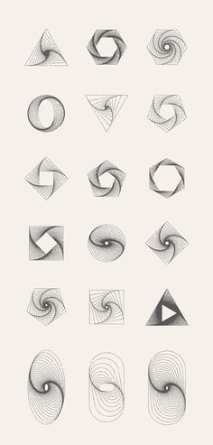 MASSIVE GEOMETRY BUNDLE by kloroform on @creativemarket
