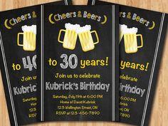 Th birthday surprise party gold black mens th birthday