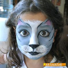 Face painting is so much fun and my favorite little face to paint is my own daughter. Look how perfect her eyes are for the cat face... A Repin 4u from http://Splashtablet.com The suction-mount, waterproof iPad case. $39, ships free.