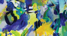 kate spade's july's artfully abstract print - love these colors