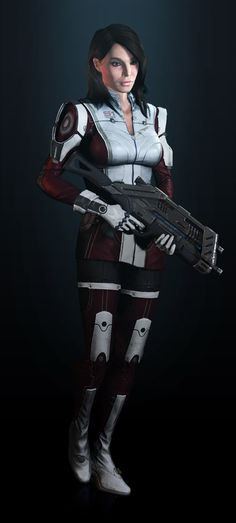 Ashley, Mass Effect 3