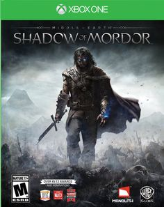 Middle Earth: Shadow of Mordor - Xbox One. Might be one of the best next-gen games I've played...