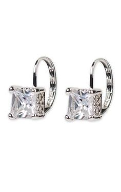 hanging diamond earring