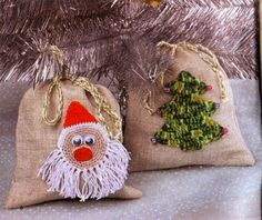 Cute ornaments....Lindos adornos.