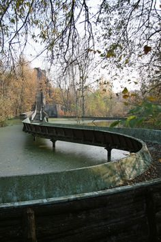 Site of the final scene of the film Hanna (Wer ist Hanna?) The Grand Canyon Ride at Spreepark - Berlin Love