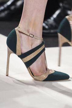Glamour a tus pies: los zapatos más chic de las semanas de la moda. Carolina Herrera Otoño / Invierno 2013