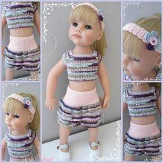 Tricot American Girl, American Girl Crochet, Glass Cube, Girl Dolls, Creations, Knitting, Women, Fashion, Alice Band