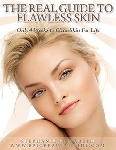 The real guide to flawless skin - lots of great tips for scrubs, homemade pore strips, etc.