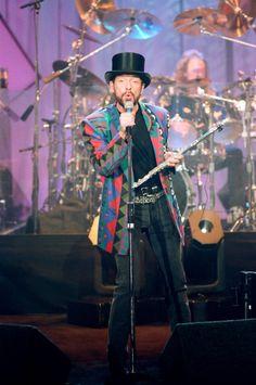 Convidado musical Jethro Tull realiza em 28 de marco de 1993