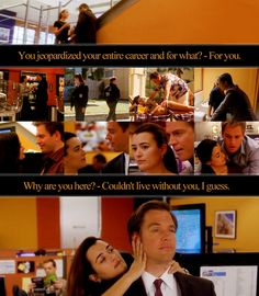 NCIS<3 - one of these episodes they are going to hook up, just you wait!