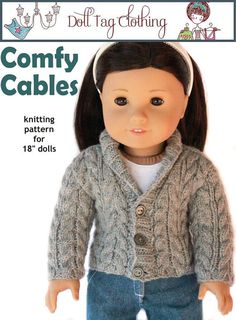 New sweater pattern from Doll Tag Clothing