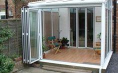 Posso fare una veranda chiusa senza permessi? Terrazzo, House Extension Design, House Design, Terraced Patio Ideas, Outdoor Pergola, Gazebo, Sunroom Kits, Garden Room Extensions, Patio Enclosures