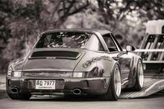 The Porsche 911 is a truly a race car you can drive on the street. It's distinctive Porsche styling is backed up by incredible race car performance. Porsche 356, Porsche Cars, Porsche Models, Porsche Carrera, Ford Models, Ferdinand Porsche, Volkswagen, Vw Mk1, Porsche Classic