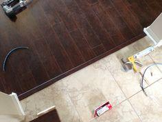 ideas dark wood grain tile flooring for 2019 - Wood Parquet Dark Laminate Floors, Black Wood Floors, Wood Tile Floors, Wood Laminate, Hardwood Floors, Dark Flooring, Flooring Ideas, Wood Floor Kitchen, Kitchen Flooring