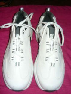 619c833c153 New men s Foot Joy Contour golf shoes-size 11 1 2 white blue Footjoy  Medium. Sports CapsGolf ShoesContourNflSoccerContouringFutbolGolf ...